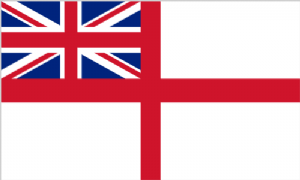 White Ensign Large Flag - 5' x 3'.